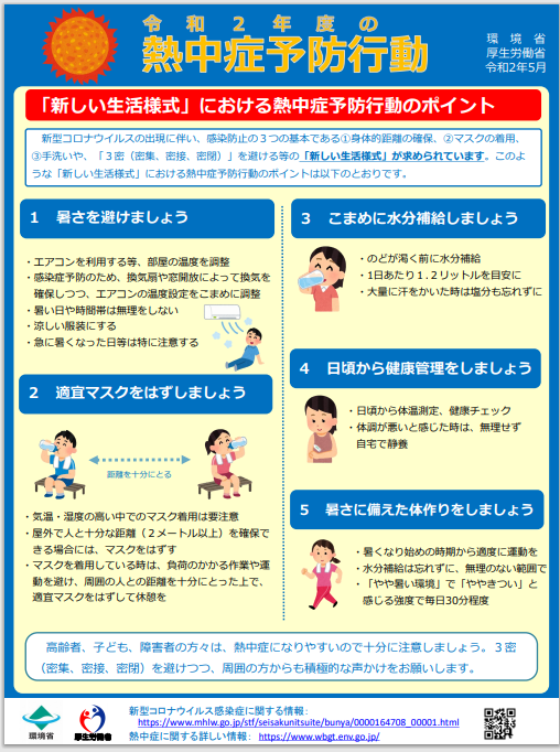 熱中症予防対策