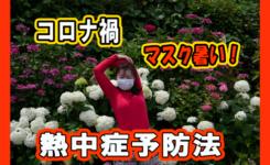コロナ禍でのウイズマスクと熱中症予防