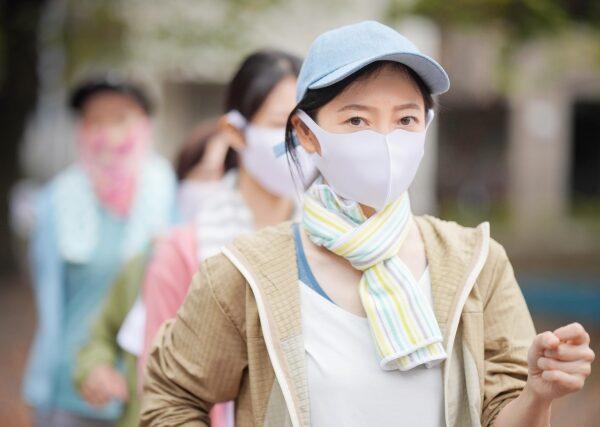 マスク下でのストレス対策